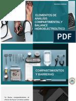 Elementos de Análisis Compartimental y Balance Hidroelectrolítico