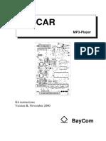 Oscar MP3 player kit instructions