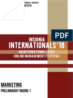 Marketing - Internationals 18