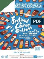 Programme du festival de Loire 2019