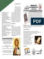 Entronización de La Biblia en El Hogar