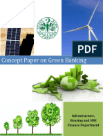 State Bank of Pakistan (2015) Concept Paper on Green Banking