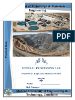 mineral dressing  practical.pdf
