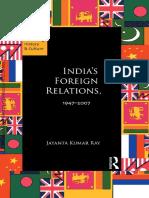 India's Foreign Relations_jayanta Kumar Ray