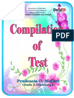 2018 Compilation of Test Cover