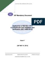 IAF MD Appln 17011 GHGVV 09072014