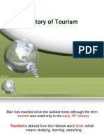 History of Tourism 2