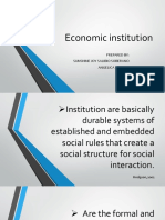 Economic Institution