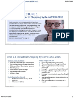 Industrial of Shipping System Mlu1.6-Slides