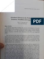L. J. van der Lof_ Abrahams Bosom in the Writings of Irenaeus, Tertullian and Augustine