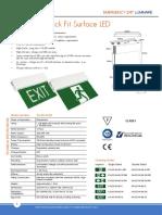 7.Exit Lamp Power Craf -Led-m-qf