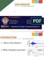 Response spectrum