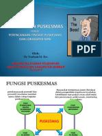 Presentasi Manajemen Pusk 08 JUli 2014