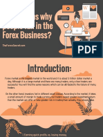 Top Reasons Why Peoiple Fail in Forex Business.
