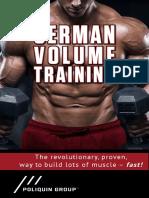 2018 German Volume Training