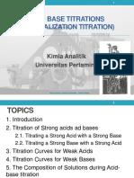 4_Acid Base Titration