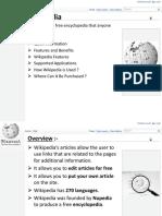 Wikipedia Presentation