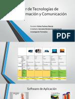 Ejemplos de software utilitario sistema y aplicacion