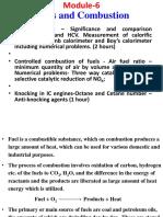Combustion Notes (University Level)