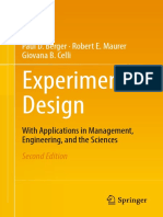 Paul D. Berger,Robert E. Maurer,Giovana B. Celli (Auth.) - Experimental Design_ With Applications in Management, Engineering and the Sciences (2018, Springer International Publishing)