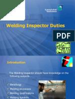 ARAMCO-Welding Inspector Duties
