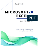 Microsoft  Excel 2019 for Beginners