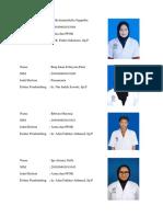 List Anggota Kelompok Dan Jadwal Jaga