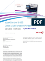 Xerox Workcentre 6655 Service Manual
