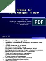 Ikuko SEKI IND Makassar Training for Nurse Managers
