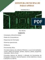 Informática - Introdução à Microinformática