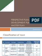 Regional Plan, Prespective Plan and Master Plan_Gnan_V1
