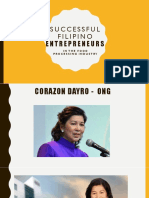 Successful Filipino Entrepreneurs