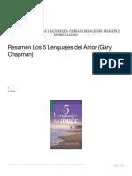 Resumen Los 5 Lenguajes del Amor (Gary Chapman) ? LibroResumen.pdf