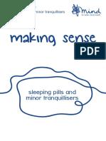 Mind.org - Making Sense of Sleeping Pills and Minor Tranquillisers