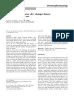 Antihypercholesterolaemic effect of ginger rhizome (Zingiber officinale) in rats