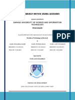 thesis report on smart energy meter