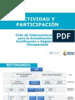 1. Actividad y Participación