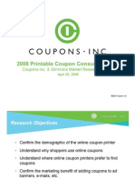 2008 Printable Coupon Consumer Pulse