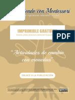 Actividades con Monedas - Creciendo Con Montessori.pdf