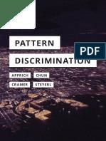 Clemens Apprich_ Wendy Hui Kyong Chun_ Florian Cramer_ Hito Steyerl - Pattern Discrimination-Meson Press, University of Minnesota Press (2018)