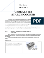 Cereals and Starch (Cookery)