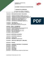 Especificaciones Tecnicas - Arquitectura (1)