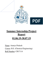HPCL Summer Internship Project Report