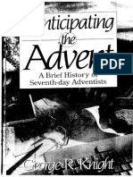 Preview of Anticipating the Advent a Brief History of Seventh Day Adventists