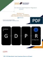 GDPR Presentation