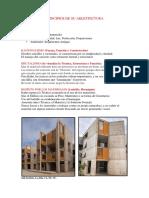 Principios Arquitectonicos (Louis Kahn)