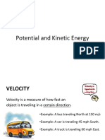 Potential and kinetic