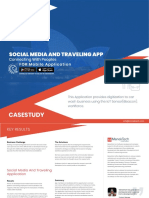 Social Media and Travel Application
