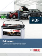Cars Battery From Bosch