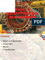 [Part 1] Electrical Machines